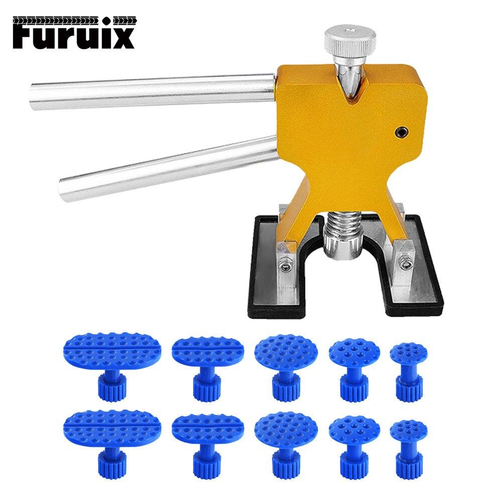Furuix PDR herramientas de abolladura sin herramientas de la reparación Dent eliminación Extractor de abolladura pestañas Dent elevador herramienta de mano conjunto de herramientas Herramientas