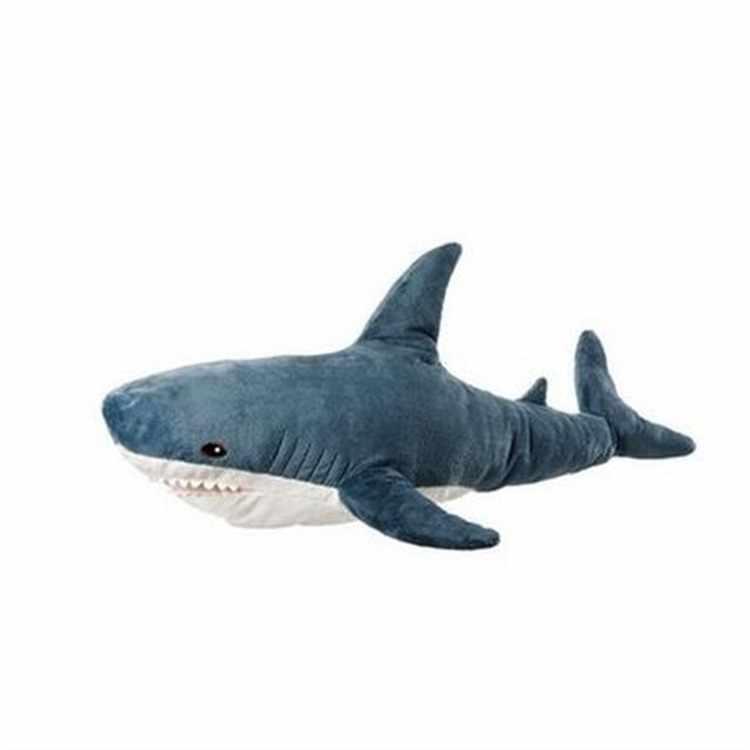 100 cm gigante hammerhead peixe brinquedo de pelúcia lifelike brinquedo macio pelúcia animal de alta qualidade crianças presente loja decoração
