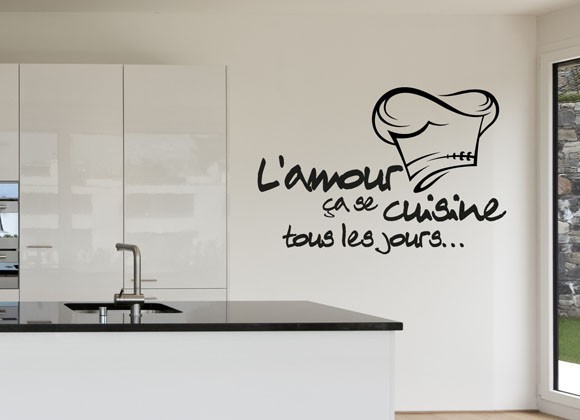 hot kitchen tile wall sticker removable stickers cuisine french vinyl wall decalin wall stickers. Black Bedroom Furniture Sets. Home Design Ideas