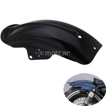 Black Longlife Durale Rear Mudguard Fender Prevent For Harley Sportster 883 1200 883R 1200 XL 94-03 Chopper Bobber Solo Seat Harley-Davidson Sportster