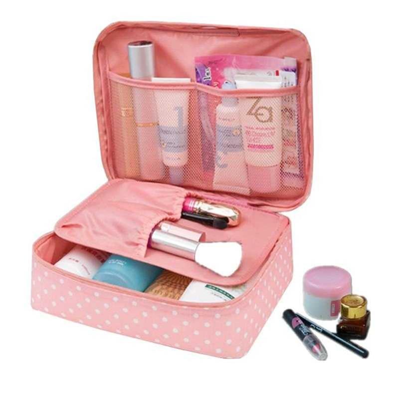 2019 New Cosmetic Bag Fashion Multi-function Oxford Travel Storage Makeup Bag Men Women Portable Waterproof Wash Bag 30