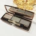 2016 Hot Professional beauty makeup eye shadow Fashion 3-color Diamonds shine eyeshadow waterproof not fade free shipping S585