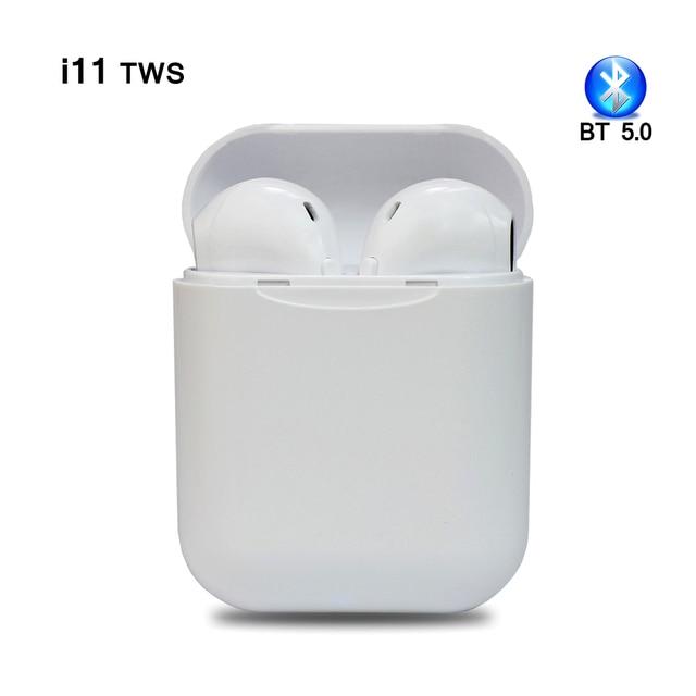 Newest i11 tws Wireless Earphone 5.0 Bluetooth Headphone air ear Mini Earbuds Headset for iPhone X iPad Apple Watch samsung pods