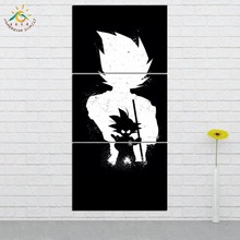 Wall Art HD Prints Canvas Painting Modular Picture And Poster  Anime Dragon Ball Decoration Home 3 PIECES