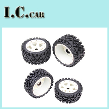Baja 5B All Terrain wheels tyre with nylon super star wheel for 1/5 HPI Baja 5B Parts Rovan KM