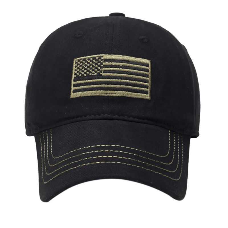 Флаг шапка с вышивкой желтая линия Кемпинг низкопрофильные тактические мужские шапки для полиции силовые сзади синяя Кепка с вышивкой