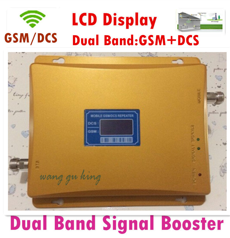 LCD display ! GSM DCS Repeater 900 1800 Dual Band Cell Phone Signal Booster Amplifier Mobile Signal Repeater Cellular AmplifierLCD display ! GSM DCS Repeater 900 1800 Dual Band Cell Phone Signal Booster Amplifier Mobile Signal Repeater Cellular Amplifier