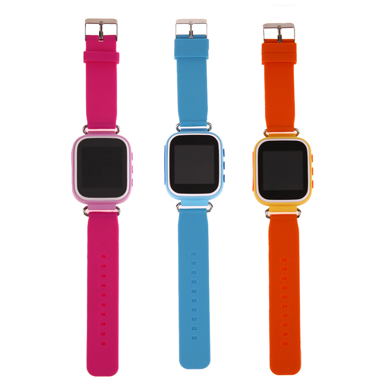 Smart Tracker Watch for Kid ABS+PC Material Anti Lose SOS Call Smart Device 1.44inch Cute Smart Student Watch