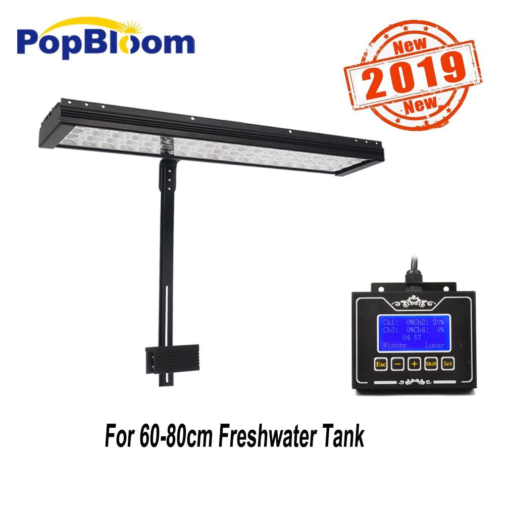 PopBloom led freshwater aquarium light lamp for fishbowl aquarium led lighting shine sunsun dimmable programmable FI4BP1