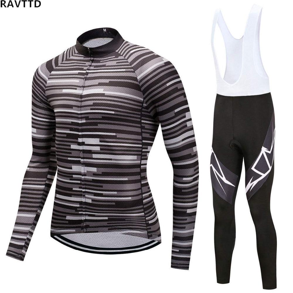 Outdoor Sports Winter Thermal Fleece Cycling Clothing Wear Bike MTB Jerseys Cycling Sets Men s Cycling