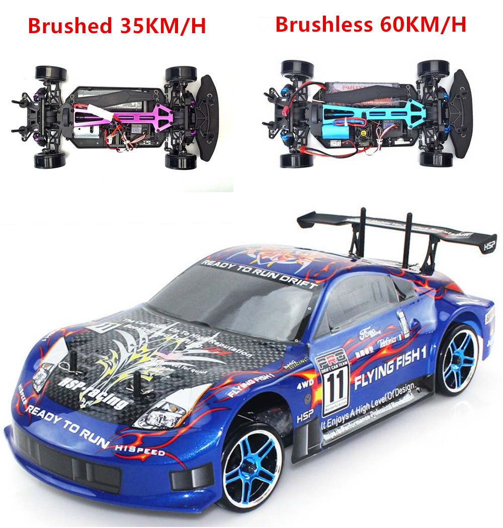 HSP Rc Car 1/10 Electric Power 4wd On Road Rc Drift Car