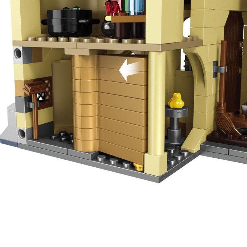 16060 модель замка из фильма, Волшебная модель замка, 6742 шт., строительные блоки, кирпичи, игрушки, детский подарок, совместимы с legoinglys city 71043 - 5