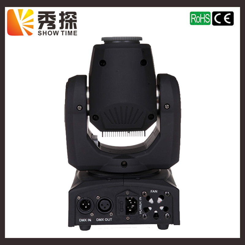 (1Pcs/lot) 30W Gobo Mini LED moving head stage effect color light high brightness dj spot gobo led light DMX 512 controller led mini moving head light 60w gobo dmx spot effect dj light fixtures