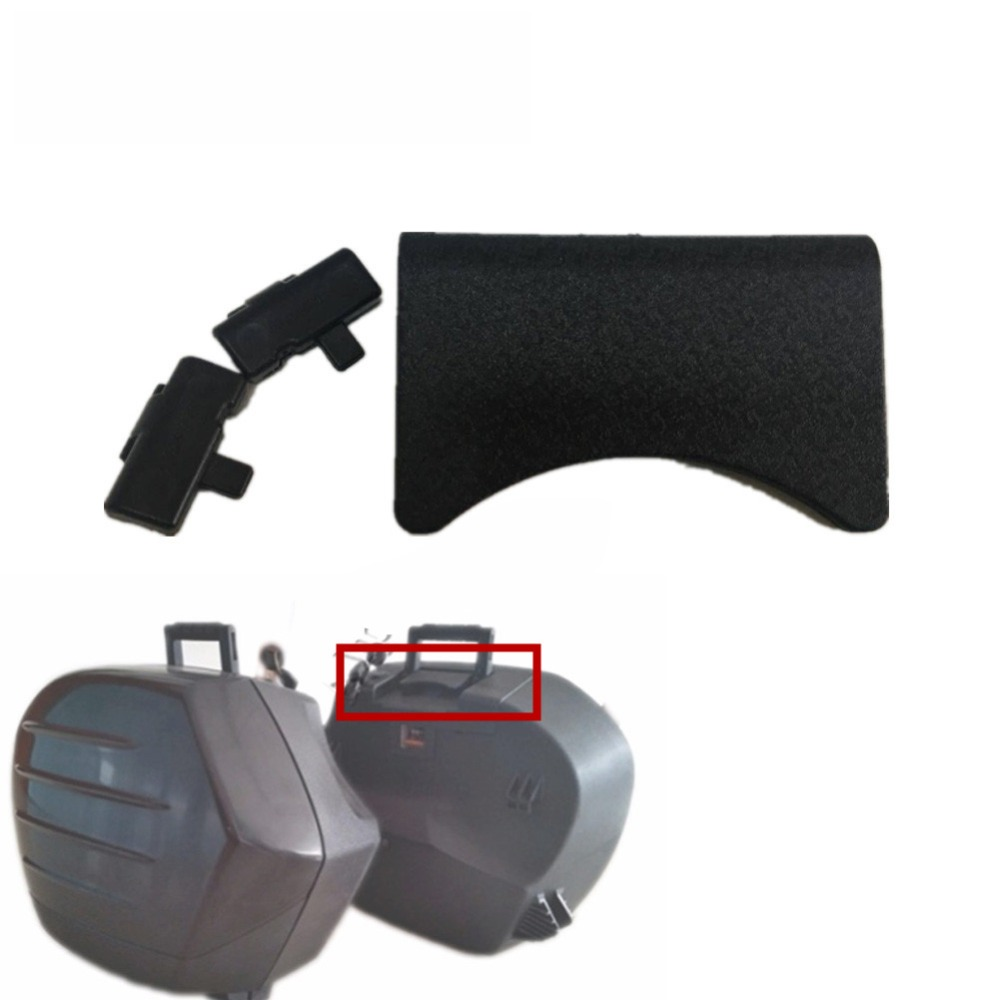 Abs Side Luggage Saddle Up Cap Backrest Pad Top Cover