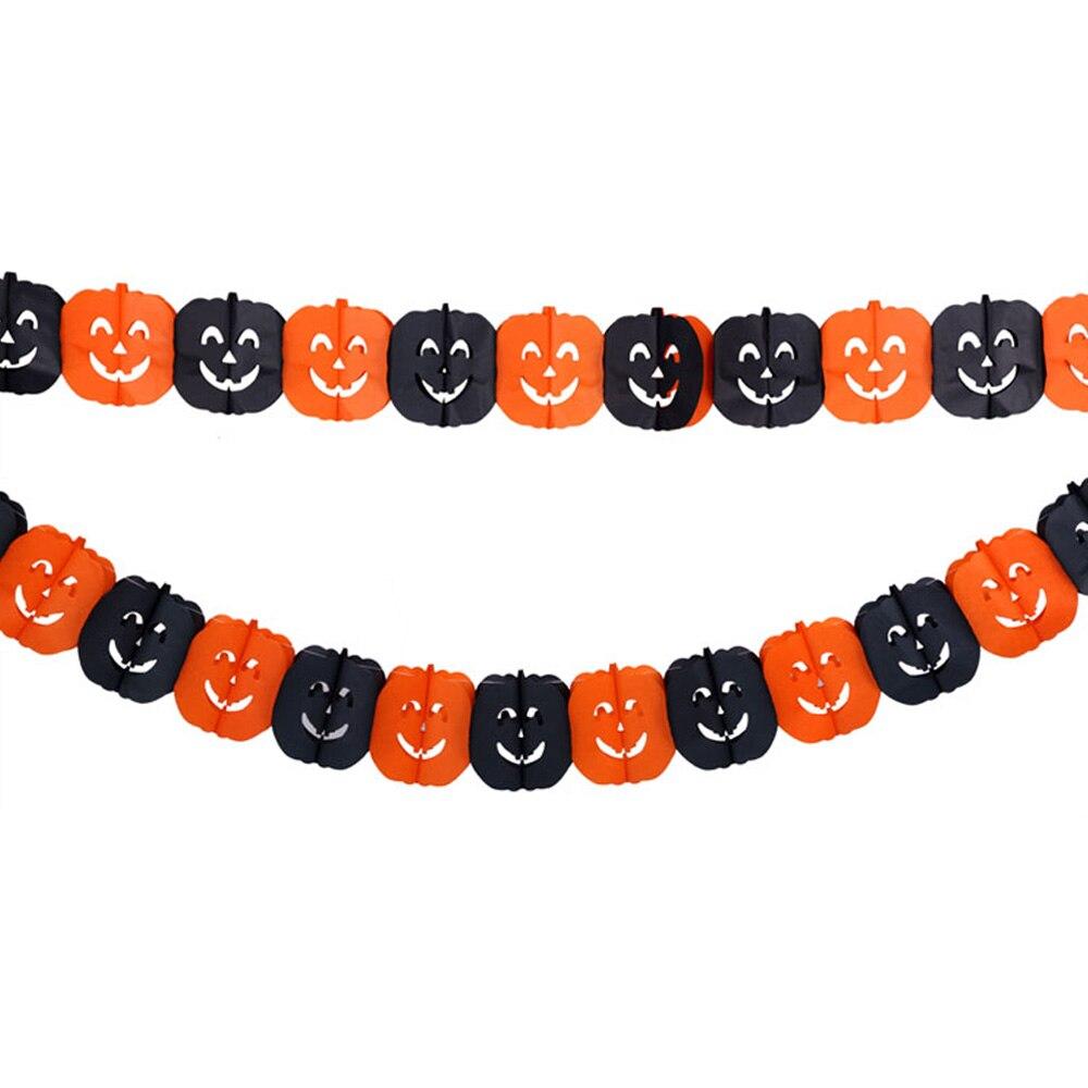 Nueva Halloween Jack-o-linterna de halloween Guirnalda Accesorio Del Partido Am