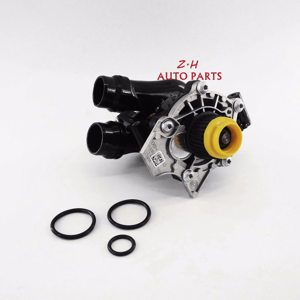 OEM NEW Water Pump Thermostat Assembly 06H 121 026 CQ For VW Passat Golf GTI CC Tiguan Jetta  AUDI A3 A4 A5 A6  Q5 TT 1.8T 2.0T yanmar parts the water pump thermostat type with reference 4tne88