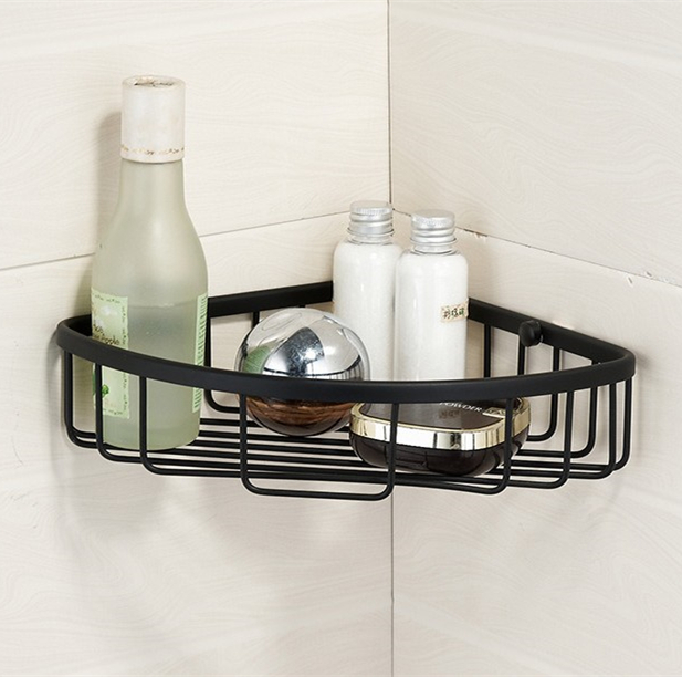Bathroom Accessories European Style Brass Material Black