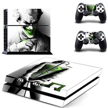 Suicide Squad Harley Quinn Joker Batman PS4 Skin Sticker Decal Vinyl for Playstation 4 Console and 2 Controllers PS4 Sticker