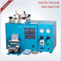 Digital Vacuum Wax Injector with Auto Clamp,Wax Injector for Casting Jewellery ,2 Pound Wax Free