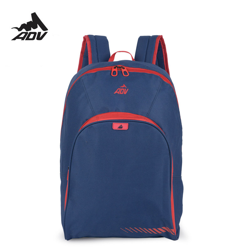 d703d20a2a48 Adventteam Kids Adults Backpack multi Color Casual school bag solid  daypacks Preppy style rucksack -in Backpacks from Luggage   Bags on  Aliexpress.com ...