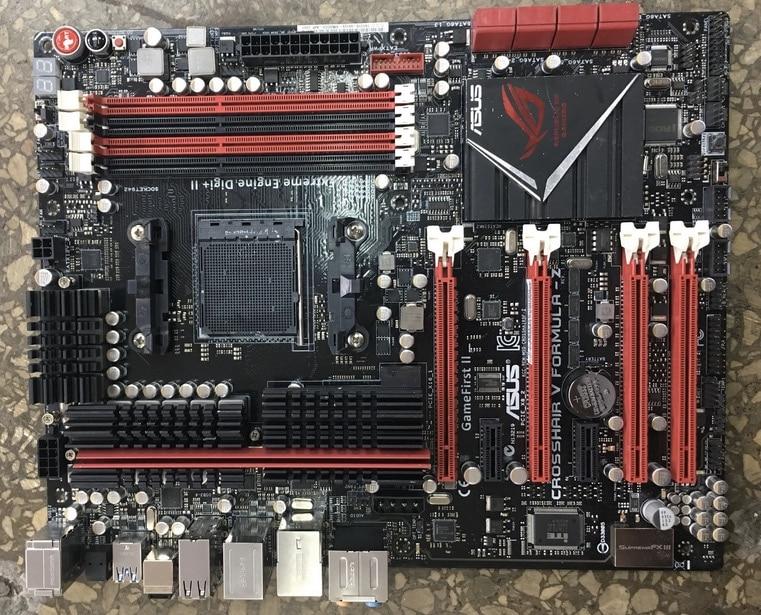 все цены на original motherboard for ASUS Crosshair V Formula-Z C5F-Z Socket AM3+ DDR3 32GB USB2.0 USB3.0 Desktop motherboard Free shipping