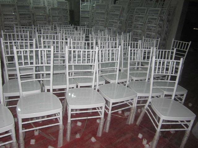 Tiffany Wedding Chairs Salon Waiting Metal Chiavari Chair Banquet