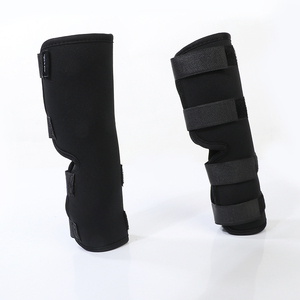 Image 4 - 2PCS/pair Dog Kneelet Pet Leg Knee Hock Brace Straps Protection Dog Bandages Wrap Medical Supplies Dogs Pad Therapeutic Support