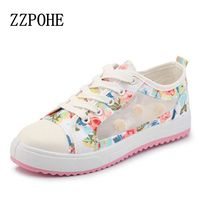 2016 Spring And Summer Sweet Woman Fashion Breathable Mesh Shoes Comfortable Flat Shoes Woman Student Girls