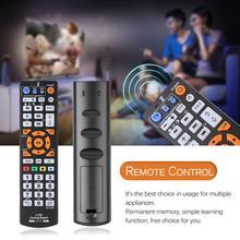 범용 원격 제어 컨트롤러 tv 용 학습 기능이있는 ir 원격 제어 cbl dvd sat