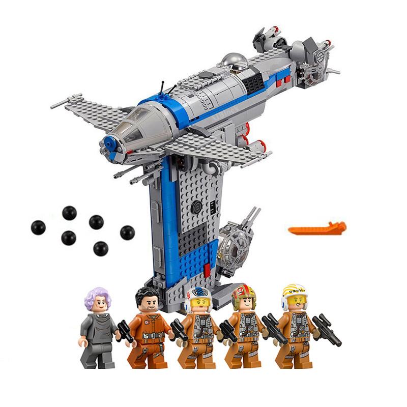 The Resistance Bomber Bricks Compatible With Legoing Star Wars Model Building Blocks Boys Birthday Gifts Starwars Toys image