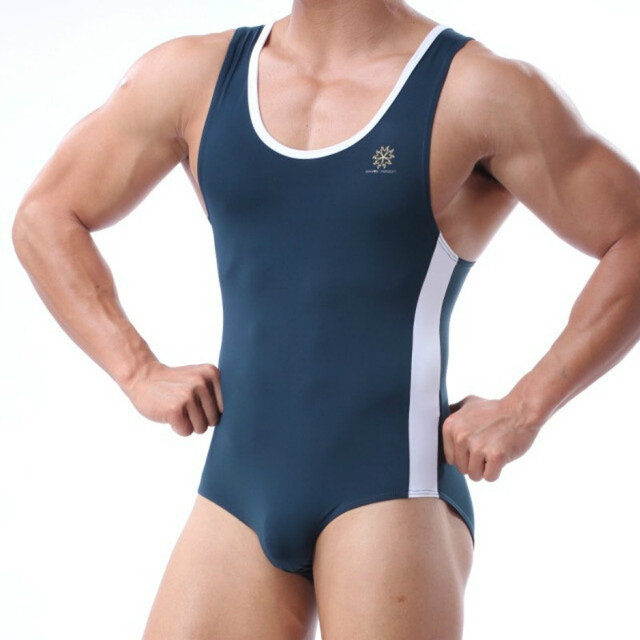 a62a19b115 Mens Swimsuit Fitness Swimming Suit for Men Bathing Swim Wear Leotards Sexy  Swimwear Trunks BRAVE PERSON Brand