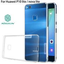 Huawei p10 lite case soft тпу nillkin оригинальный huawei nova p10 Lite Задняя Крышка coque телефон fundas P10 lite силиконовый саппу 5.2″