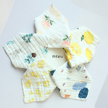 1pcs 20-style Cotton Triangle Baby Bibs&Burp Cloths Bandana Bib Colorful Infant Boys Girls Comfortable Waterproof Bib Bandanas
