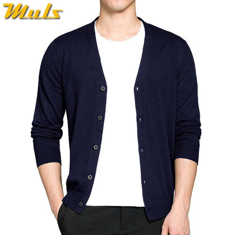 8 Colros Wolle Strickjacke männer pullover herbst frühling v ausschnitt  herren pullover woll männlichen strickjacken qualität strick slim fit M 3XL  2823 in ... 7b3894cf19