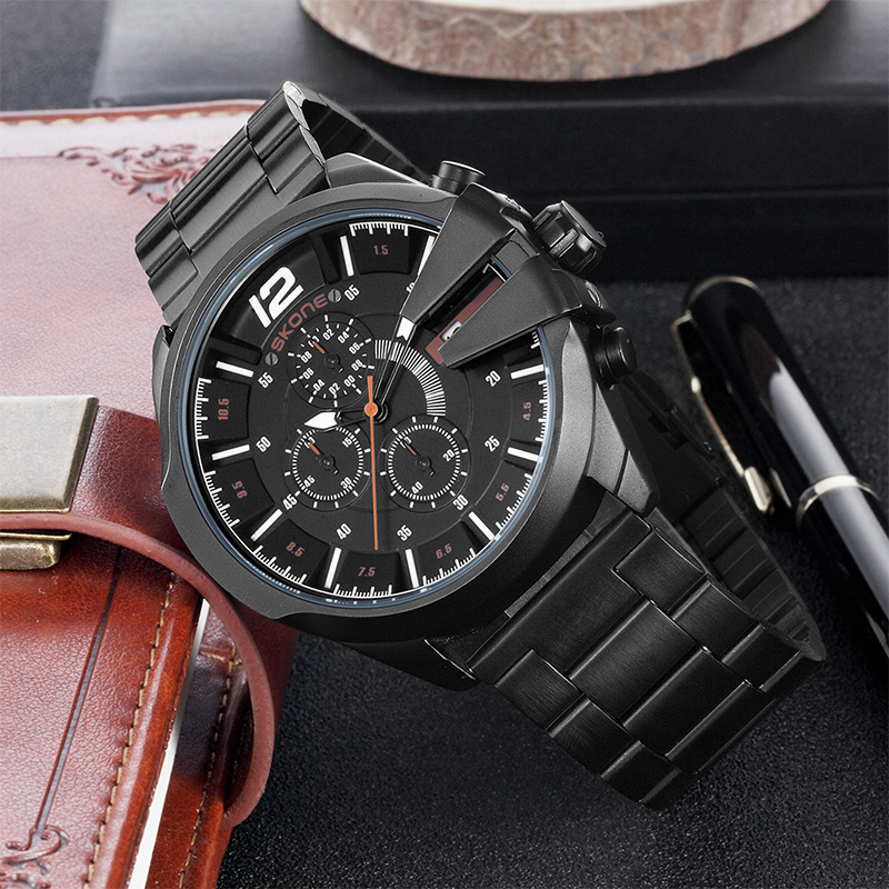 Skone design famoso relógios de luxo homens