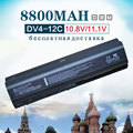 12 cell nueva batería del ordenador portátil para hp pavilion dv4 dv5 dv6 hstnn-ib72 hstnn-lb72 hstnn-lb73 hstnn