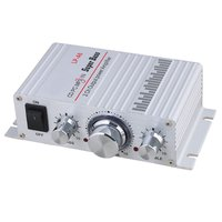 Lepy LP A6 Mini 2 Ch Hi Fi Stereo Audio Car Home Output Power Amplifier For