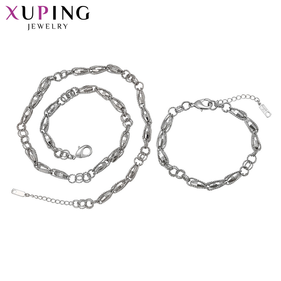 Xuping Fashion Simple Charms Style Set For Girls Women Hot Sell