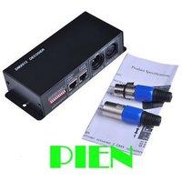 DMX512 8a декодер LED контроллер Диммер 3 Каналы драйвер RGB Светодиодные полосы DC12V-24V Бесплатная доставка 1 шт.