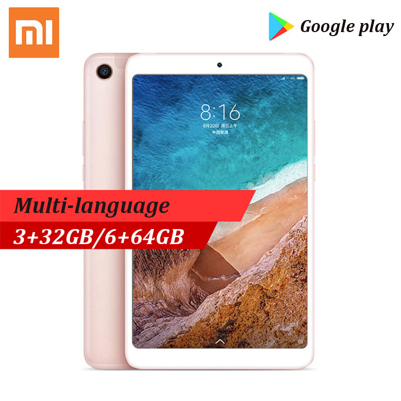 Xiao mi Pad 4 mi Pad 4 tablette 8 pouces Android 8.0 32 GB/64 GB 1920x1200 FHD 13.0MP + 5.0MP tablette