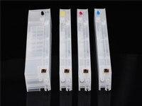 리필 잉크 카트리지 HP 970 971 쇼 잉크 레벨 hp X451dn X551dw X476dn X576dw 프린터 빈 카트리지