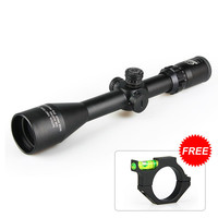 Tactical Military rifle 4.5 14.5x50 hunting rifle scope red/green illuminated FFP Scope for real gun hunting VI1012