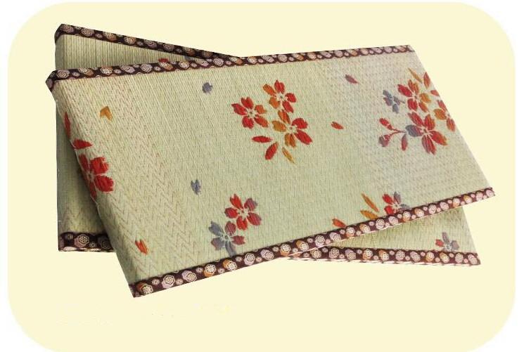 tm japons tatami alfombra del piso pequeo tamao cm a cm sakura jacquard tejida