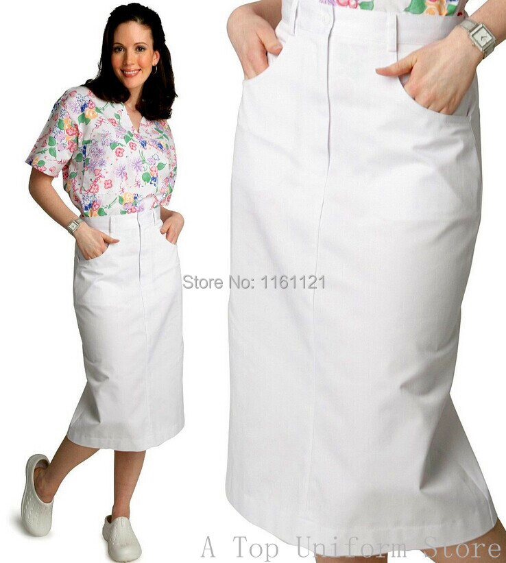 2018 Surgical Cap Medical Suit Women's Summer And Autumn Medical Nursing Zipper Skirt Uniform,nursing Working Art 113 free Ship