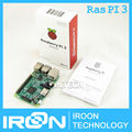 Element14 Версия: 2016 Новый Raspberry Pi 3 Модель B 1 ГБ LPDDR2 BCM2837 Quad-Core Ран ПЭ3 B, П. и. 3B, PI 3 с Wi-Fi и Bluetooth