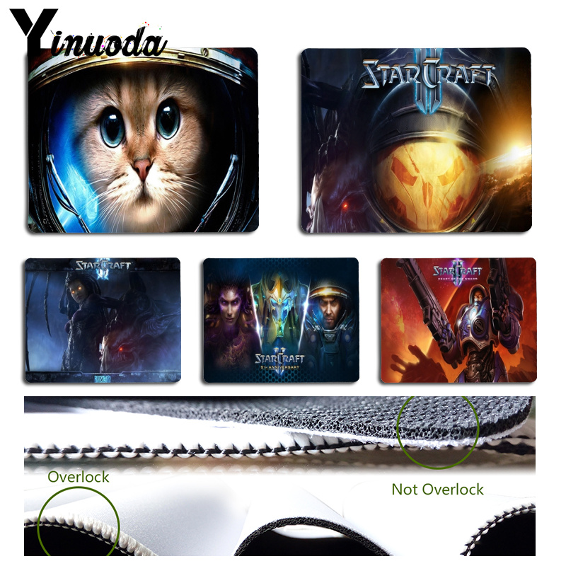 Yinuoda  starcraft 2 wings of liberty Comfort Mouse Mat Gaming Mousepad Size for Size for 180x220x2mm and 250x290x2mm