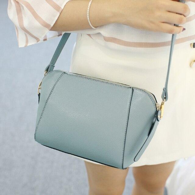 SUOAI 2020 جديد الصيف نمط المرأة شل حقائب موضة بولي Pu الإناث حقيبة كتف بنات حفلة حقيبة ساع