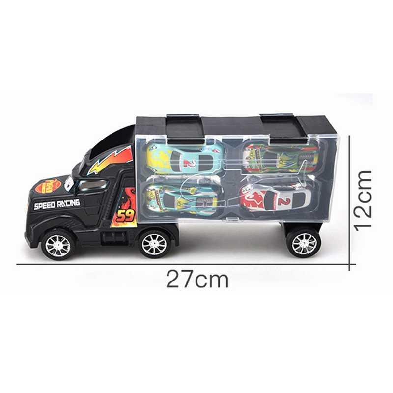 Tarik Kembali Mobil Mainan Mobil Mini Kendaraan Truk Diecasts Mainan Menarik Kembali Mobil Kendaraan Mainan Anak-anak untuk Ulang Tahun Anak hadiah 1:24