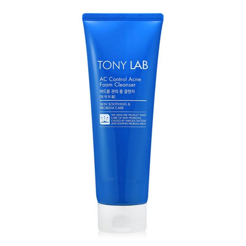 Tony Lab AC Control Acne Foam Cleanser 150ml Face Care Deep Cleansing Blackhead Remover Acne Treatments Shrink Pore пенка tony moly tony lab ac control bubble foam cleanser объем 150 мл