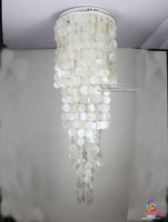 Shells long string pendant lights creative living room bedroom romantic warm lamps personalized decoration home lighting ZA